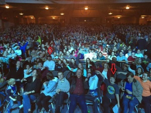 Mythbusters in Philly with Max in photoA